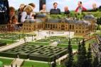 Miniatur Wunderland: Schloss mit Irrgärten