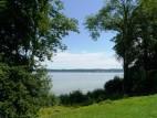 Blick vom Museumspark auf den Stranberger See