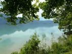 Schöner Blick auf den See
