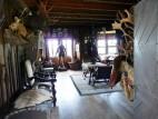 Das Jagdhaus mit kleiner Ausstellung